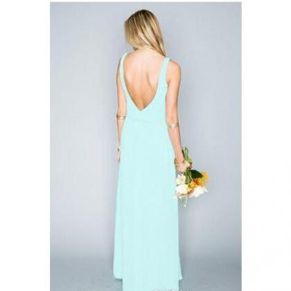 6d536b49839 Summer Beach Bohemian Mint Green Bridesmaid Dresses 2017 Mixed Style ...
