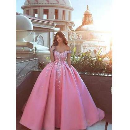 Custom Ball Gown Prom Dresses with ..