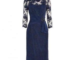 Royal Blue Lace Shor..