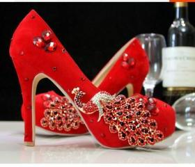 Women Shoes, Red Wed..