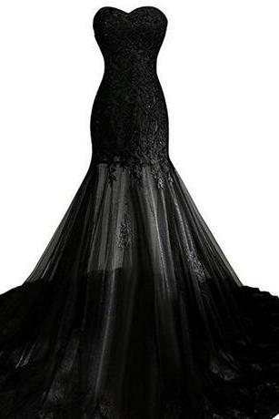 Fast Shipping Robe Sirene Longue 2018 Sexy Black Mermaid Dress Evening Cheap Formal Party Dresses Long