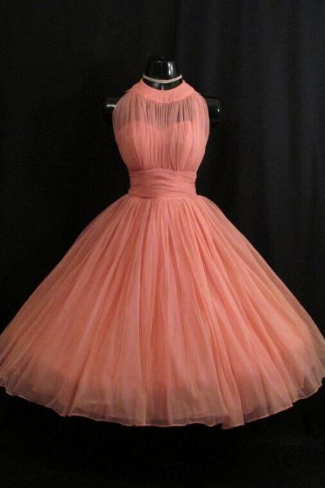 Newest Homecoming Dress,Halter Homecoming Dress,Short Prom dress,Pink Homecoming Dresses