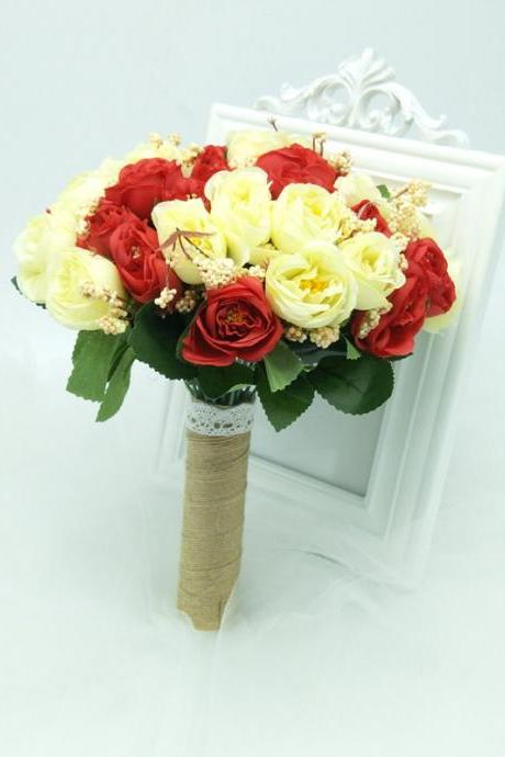 New Arrival Wedding Bouquet Handmade Flowers Bridal Bouquet Wedding bouquets