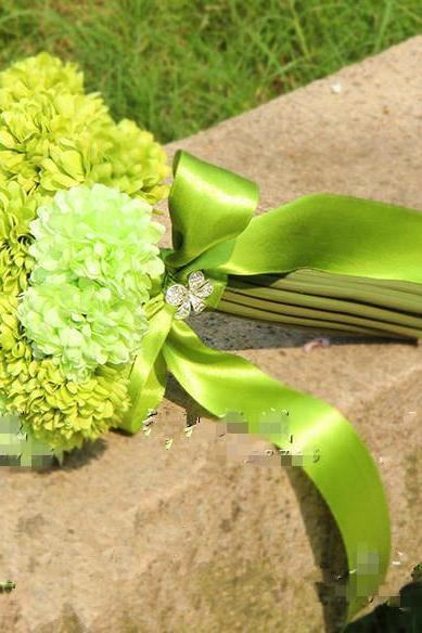 New Arrival Wedding Bouquet Handmade Flowers Light Green Bridal Bouquet Wedding bouquets