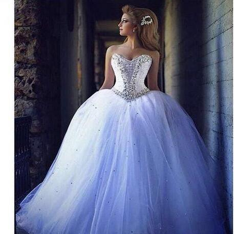 2018 Wedding Dresses Sweetheart Sleeveless Lace Appliques Beaded Sequins Puffy Ball Gown Layers Skirt Bridal Gowns